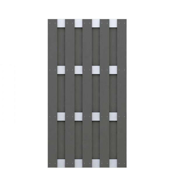 JUMBO WPC Anthrazit - Aluminium 95x179cm