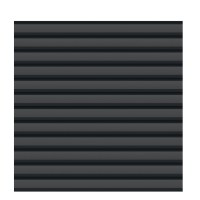 SYSTEM Metall Basic Profilzaun 179 x180cm, anthrazit