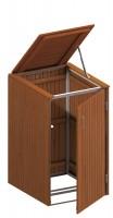 Binto Mülltonnenbox Hartholz