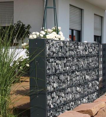 steinkorb gabionen und edelstahltisch online shop tor. Black Bedroom Furniture Sets. Home Design Ideas