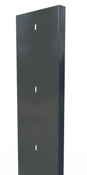 Gabionenpfosten S20, RAL7016, Tiefe 200mm