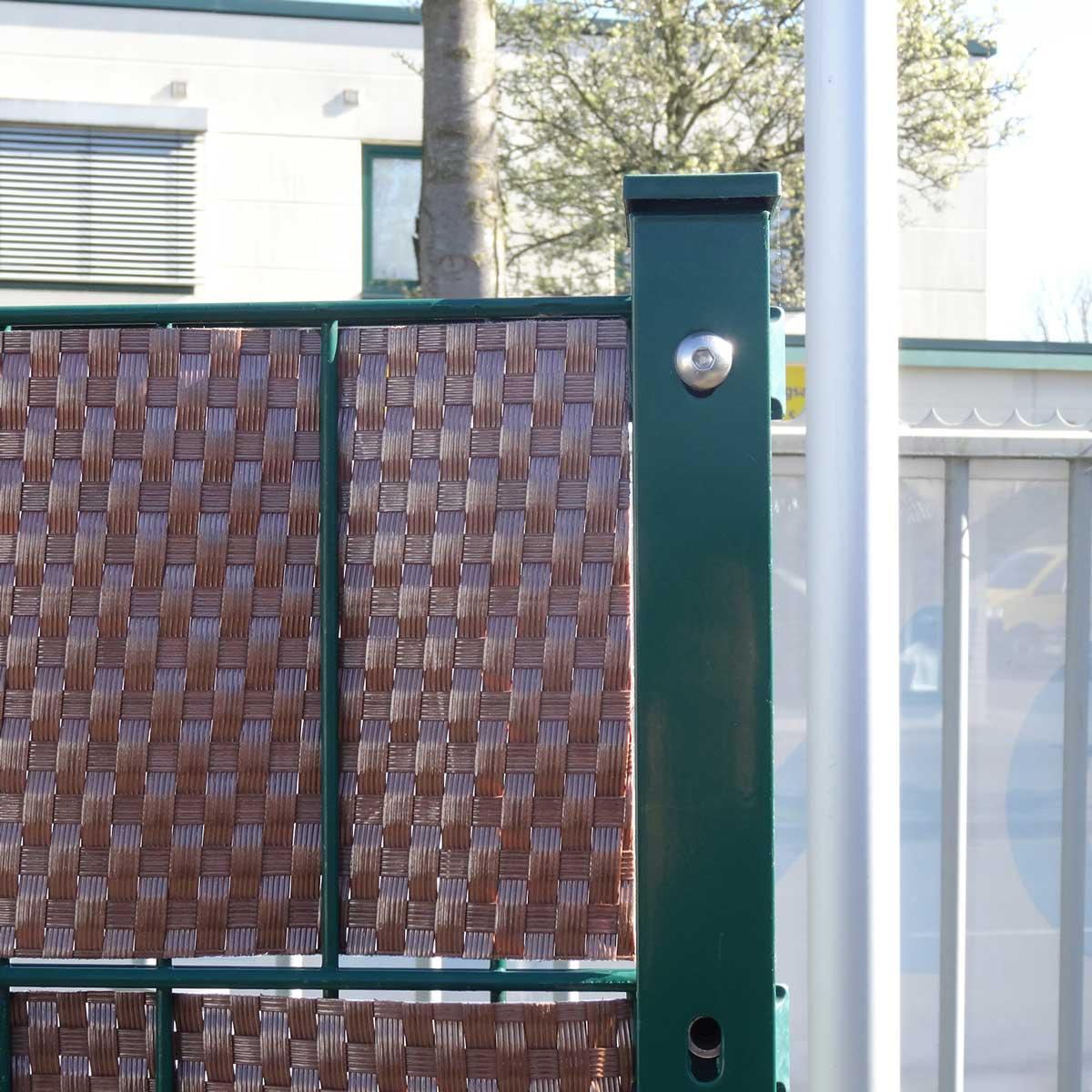 Rattan Sichtschutz Streifen Zuschnitt Gartenzaun24 Tore