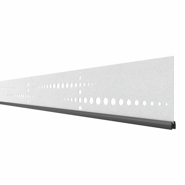 System Dekorprofil PULS, 178cm Breite, Silber