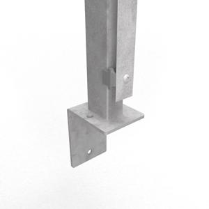 Abdeckleiste 1000mm für Zaunpfosten Anthrazit I Pfosten I Doppelstabmattenzaun