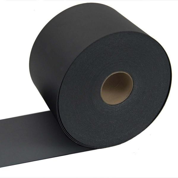 Sichtschutzstreifen Premium SP11, 50m Rolle, 1,1mm Stärke Schwarz
