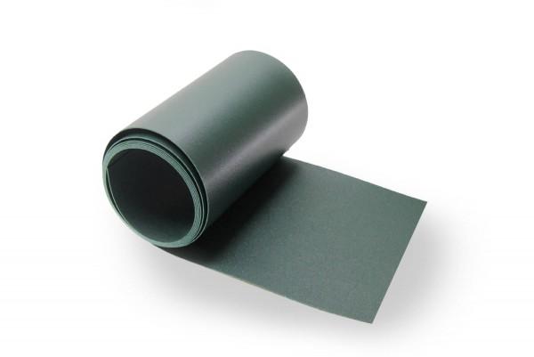Sichtschutzstreifen Premium SP11, Streifen- Zuschnitt, 1,1mm Stärke Moosgrün RAL 6005