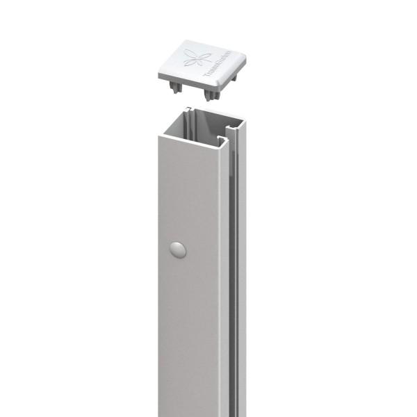 SYSTEM U-Klemmprofil, für System Glas und Board silber