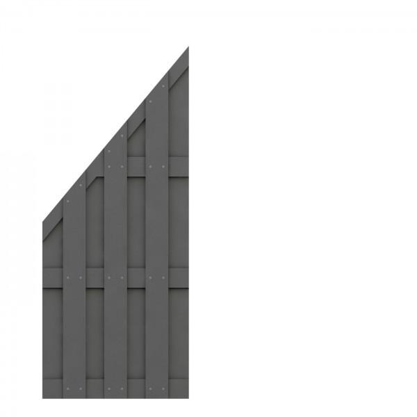 JUMBO WPC Anschluss Anthrazit 74x179/90cm