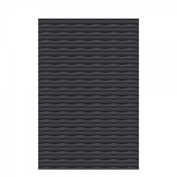 Flow Rechteck Anthrazit 120x180cm