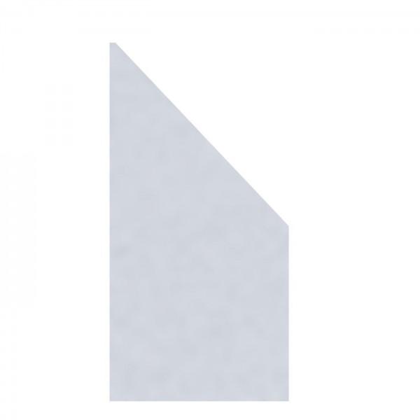 Glaselement MATT Anschluss Rechts 90x180/90cm