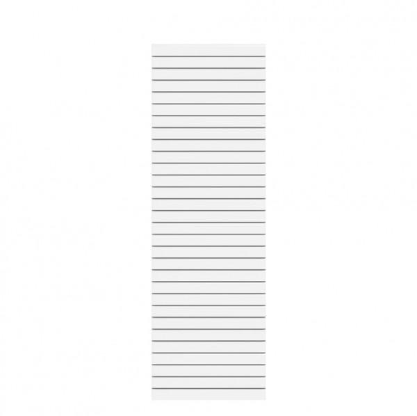System Rhombus Weiß 60x180cm