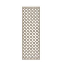 LONGLIFE Diagonalgitter, Polareiche 60x180cm