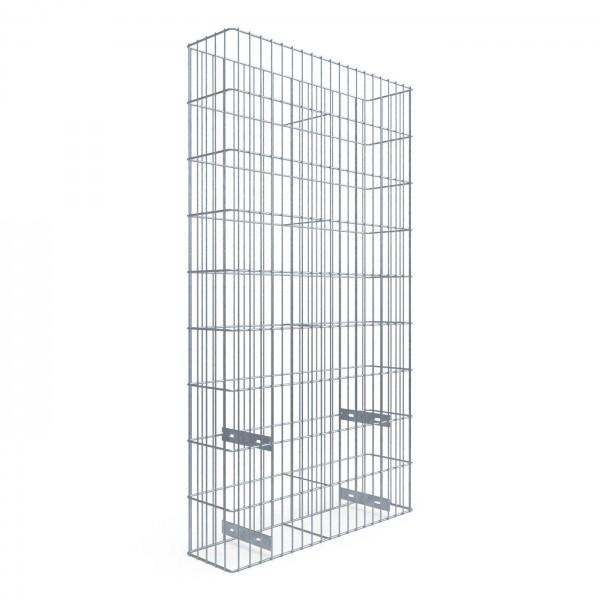 Gabionen-Set Debion Statix, Breite 1000 mm