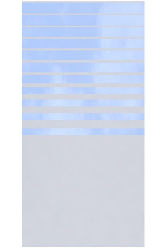 Glaselement Design BETA Rechteck, Breite 900 mm
