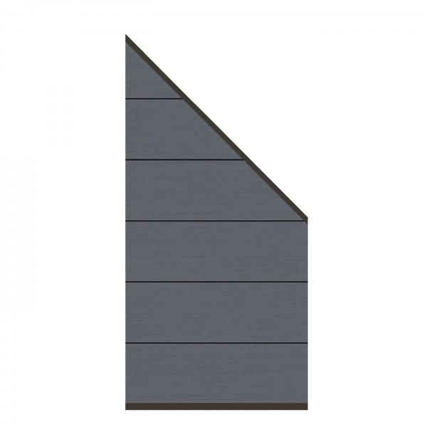 System WPC XL Zaun-Anschluss-Set, 89x183x93cm