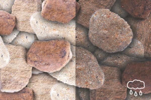 Sandstein gelb-grau, Körnung 56-100