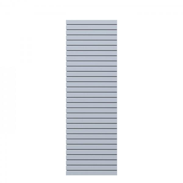 System Rhombus Silber 60x180cm