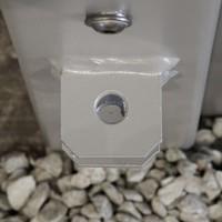 Torpfosten-Set für Doppeltor, Silber 2 Stück