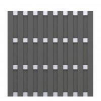 JUMBO WPC Anthrazit - Aluminium