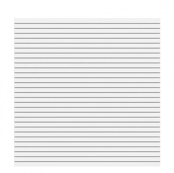 System Rhombus Weiß 180x180cm