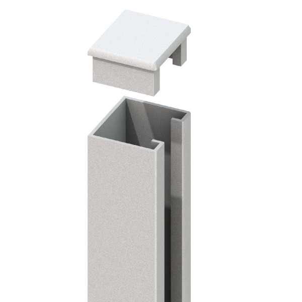 SYSTEM U-Montageprofil Silber