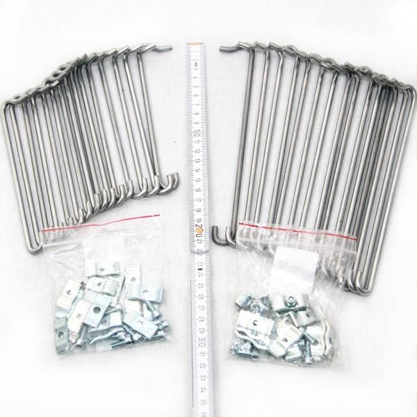 Gabionen Kleinteile-Set Tiefe 150/200mm,