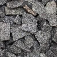 Gabionenstein Granit Grau