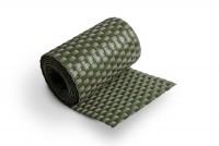 Sichtschutzstreifen Grün Rattan, Streifen- Zuschnitt