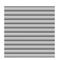SYSTEM Metall Basic Profilzaun 179 x180cm, silber