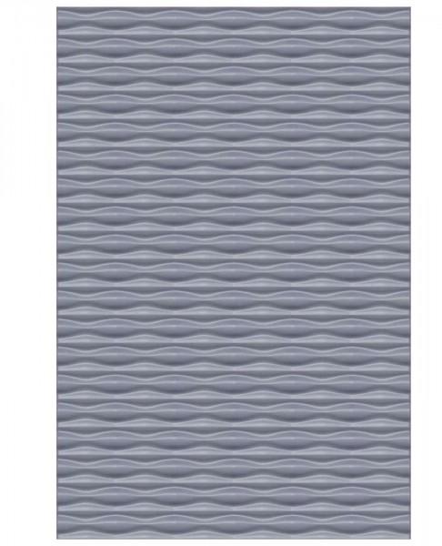 Flow Rechteck Silber 120x180cm