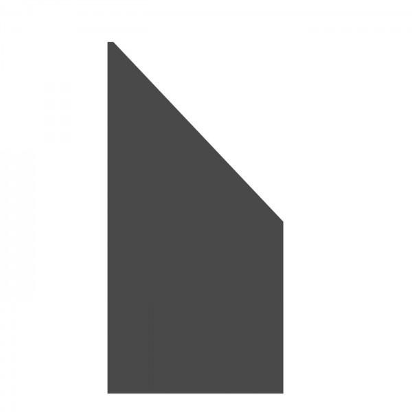 Board- Element schiefer 90x180/90cm