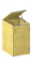 Binto Mülltonnenbox Nadelholz