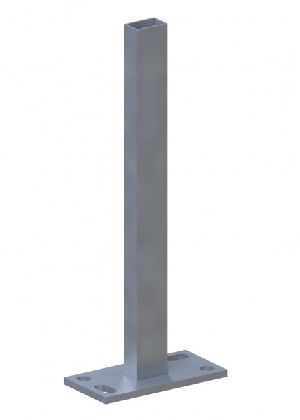 Träger SYSTEM Klemmpfosten zum Aufschrauben