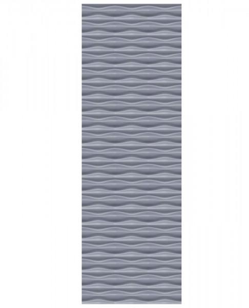 Flow Rechteck Silber 60x180cm