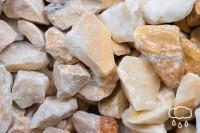 Kristall Gelb, Körnung 60-100